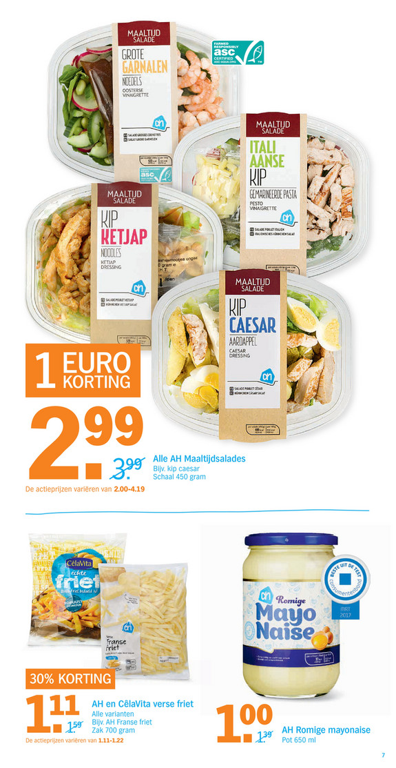 Alle Supermarkt aanbiedingen op een rij Online Folders - Alle folder aanbiedingen