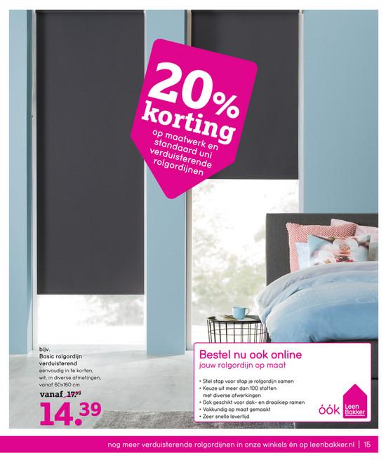 Awesome Leen Bakker Gordijnen Opmeten Gallery - Ideeën Voor Thuis ...