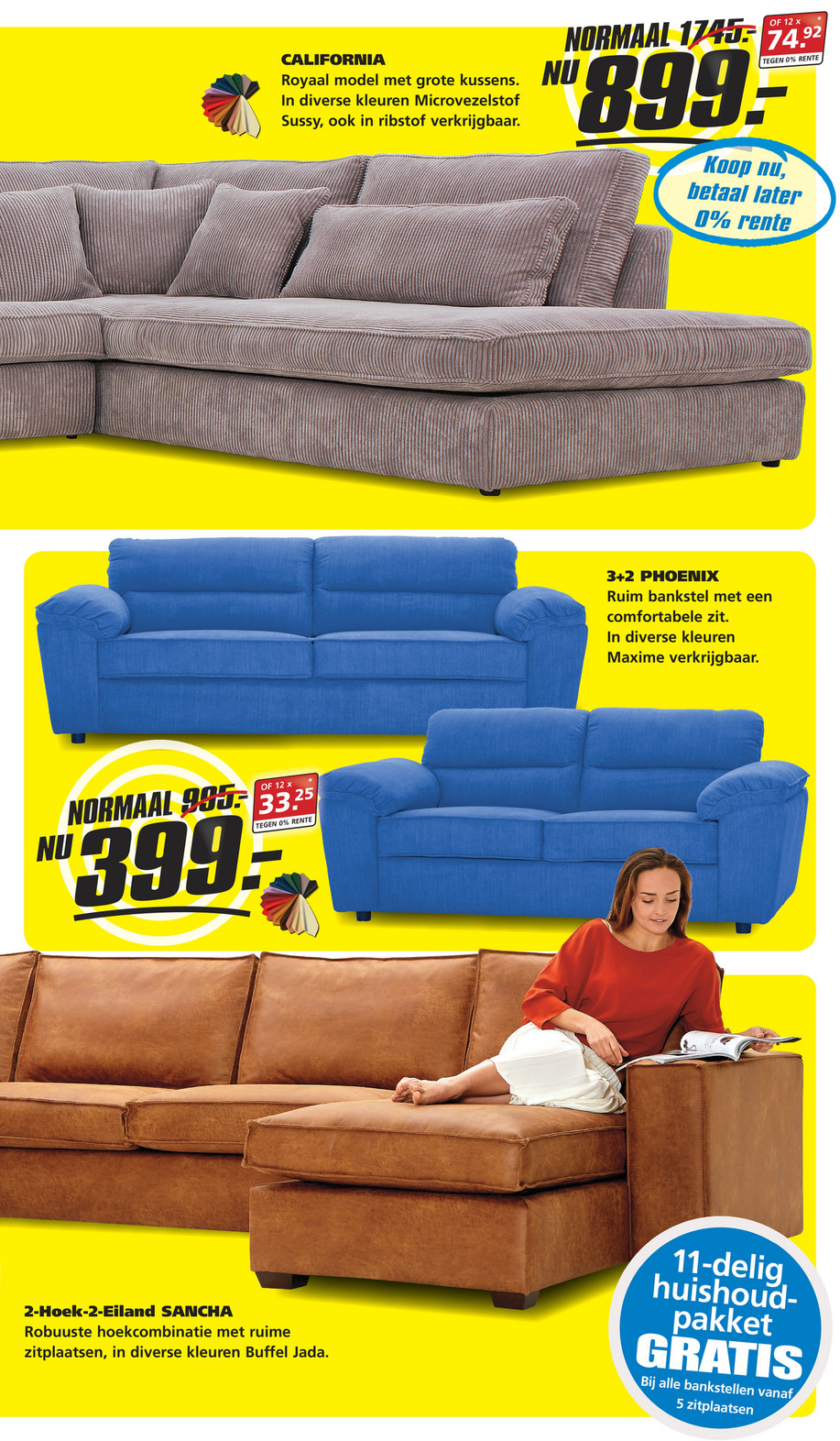 Seats And Sofas Bankstellen.Reclamefolder Nl Seats And Sofas Week22 17 Pagina 6 7