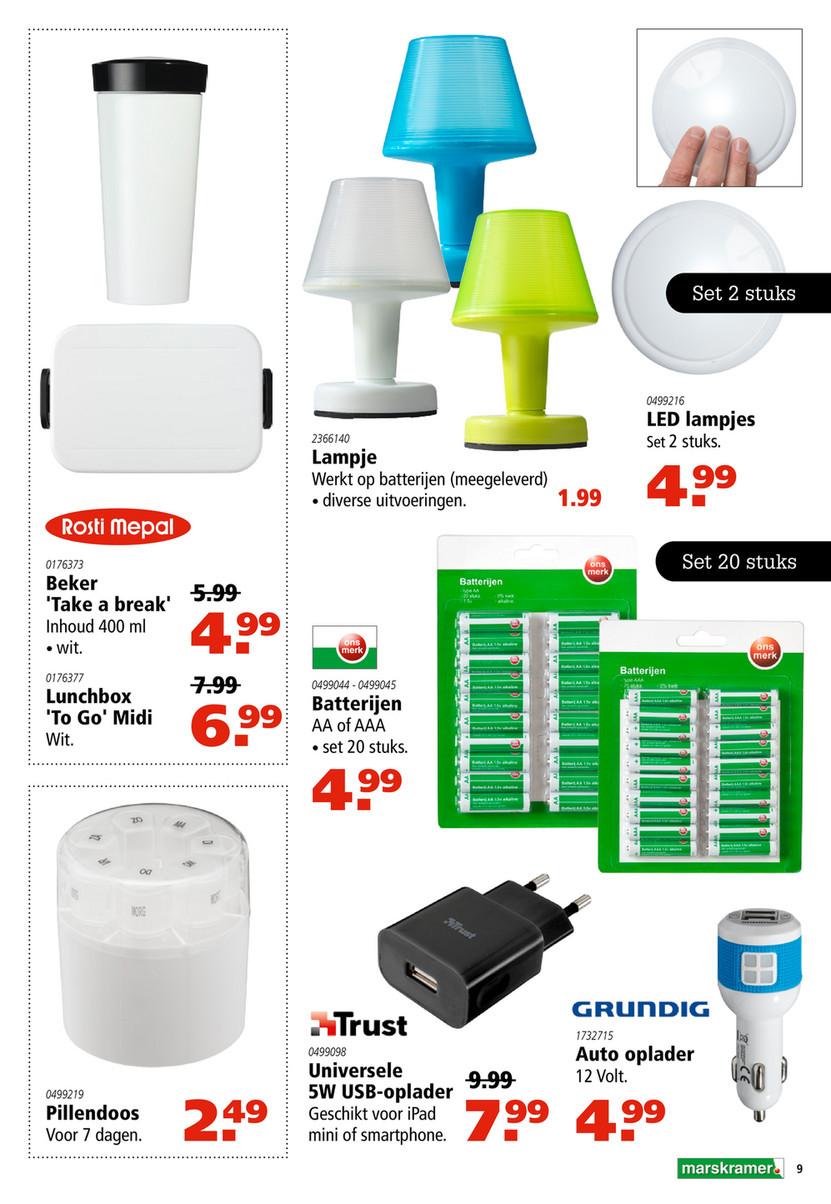 Marskramer Led Lamp.Reclamefolder Nl Marskramer Week24 17 Pagina 8 9