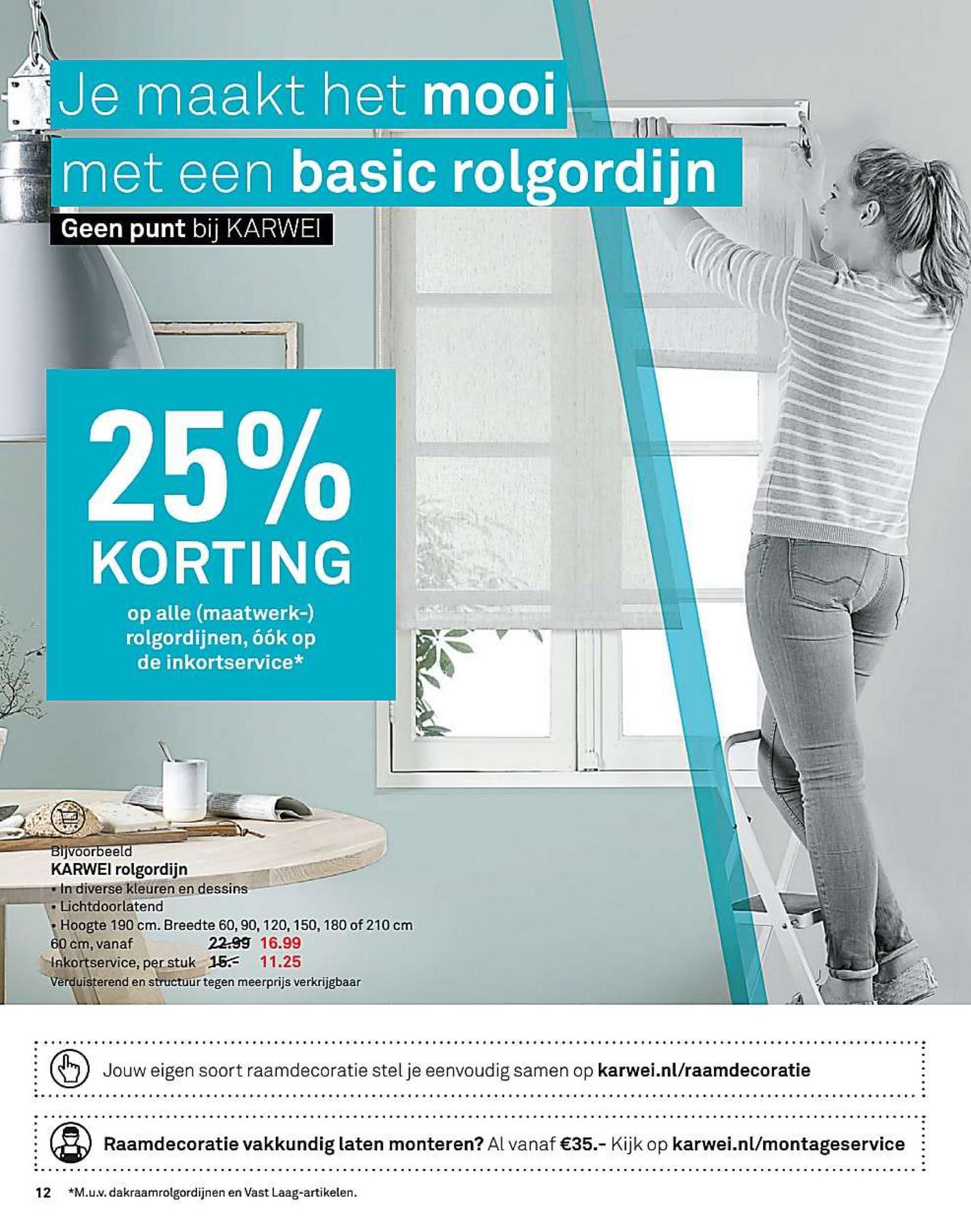 karwei nl rolgordijnen] - 100 images - vtwonen rolgordijn ...