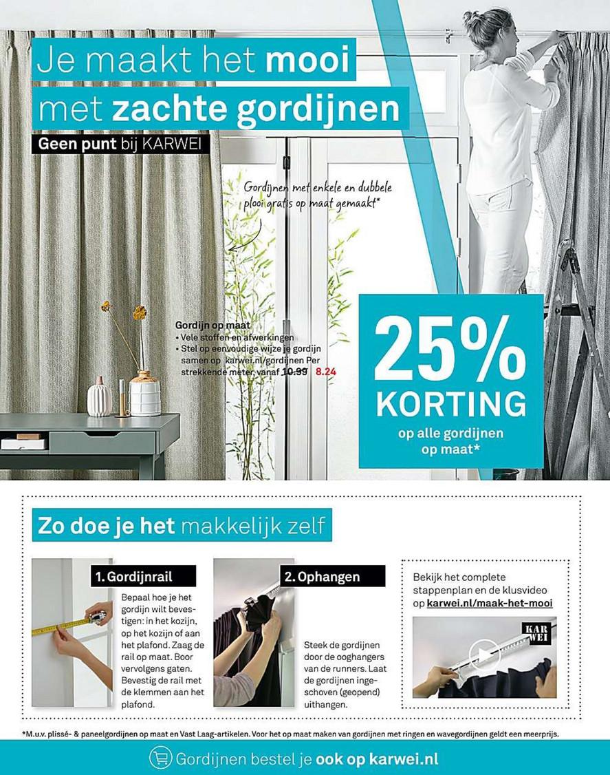 Stunning Karwei Gordijnen Op Maat ideen - Woonkamer inspiratie ...