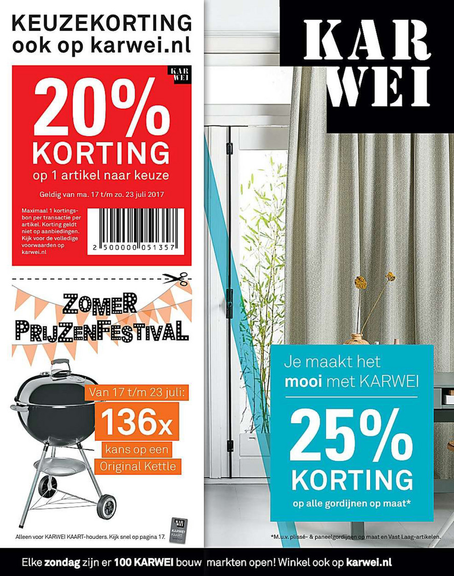 Reclamefolder.nl - karwei-week29-17 - Pagina 1
